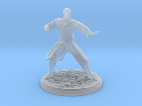 Human Monk Male in Smooth Fine Detail Plastic
