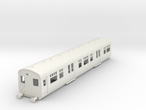 o-87-cl506-motor-trailer coach-1 in White Natural Versatile Plastic