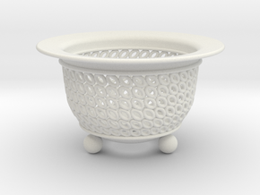 Neo Pot Ovals 2.5in.  in White Natural Versatile Plastic