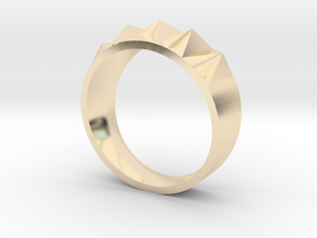 SpikeRing#1 in 14K Yellow Gold: 6.75 / 53.375