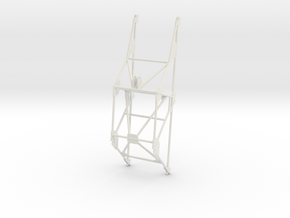 Katyusha Frame 1:16 scale in White Natural Versatile Plastic