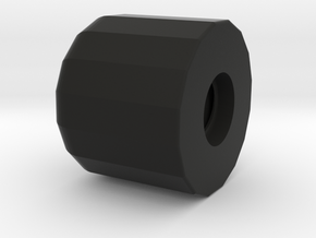 "NEODiVR ""Stealth"" Hinge Cap (4 of 6) in Black Natural Versatile Plastic"