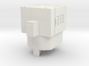 Transformers PotP GameCube Matrix Core in White Natural Versatile Plastic