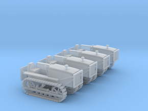 Caterpillar D4 Set - Zscale in Smooth Fine Detail Plastic