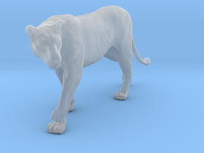 Lion 1:9 Walking Lioness 2 in Smooth Fine Detail Plastic