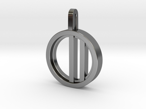 Minimalist - Unisex in Fine Detail Polished Silver: Small