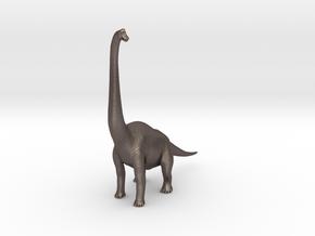 Brachiosaurus in Polished Bronzed-Silver Steel