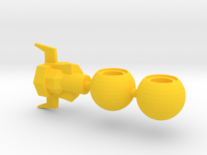 Super Acroyear Yellow Parts in Yellow Processed Versatile Plastic