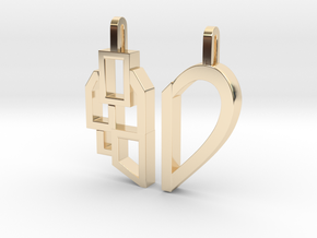 Better Together in 14k Gold Plated Brass
