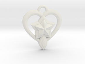 Star Guardian - Lulu (Charm) in White Natural Versatile Plastic