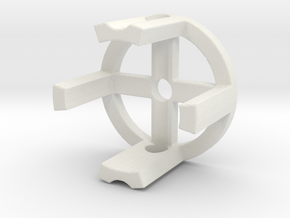 Homopolar Motor: Magic Motor Cap as seen on KickSt in White Natural Versatile Plastic