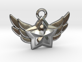 Star Guardian - First Star (Charm) in Polished Silver