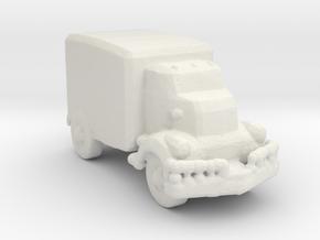Jeeper's creeper Van v1 285  scale in White Natural Versatile Plastic
