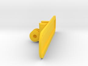 GoPro/NEODiVR Structure Sensor Mount in Yellow Processed Versatile Plastic