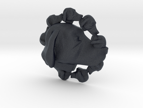 Dog Multi-Faced Caricature (005) in Black Professional Plastic