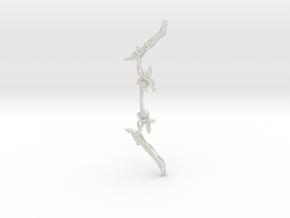 Aloy's Bow Horizon Zero Dawn - medium replica in White Natural Versatile Plastic: Small