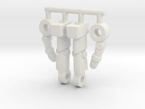 Inchnaut Inchman Limbs in White Natural Versatile Plastic