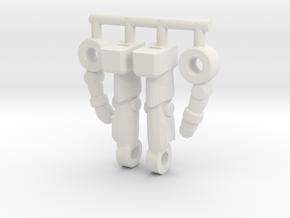 Inchnaut Inchman Limbs in White Premium Versatile Plastic