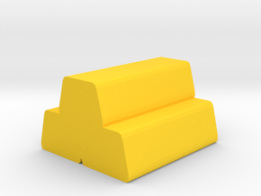 Game Piece, Ingots in Yellow Processed Versatile Plastic