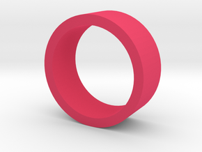 Ring Flat in Pink Processed Versatile Plastic