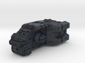 """Turanic Raider """"Thief"""" Corvette in Black Professional Plastic"""