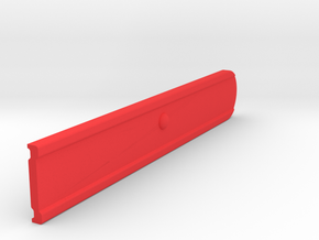 Signal Semaphore Blade (Square End) 1:19 Scale in Red Processed Versatile Plastic