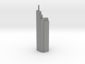 Heron Tower - London (1:4000) in Gray PA12