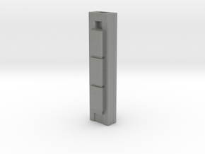 Torre Cepsa - Madrid (1:4000) in Gray PA12