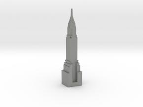 Chrysler Building - New York (1:4000) in Gray PA12
