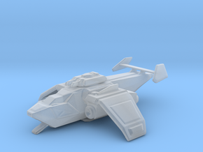 Generic gunship w/ ramps in Smooth Fine Detail Plastic
