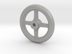 "NGG16 smokebox door handwheel 2.5""/foot in Aluminum"