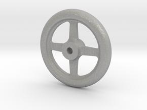 """NGG16 smokebox door handwheel 2.5""""/foot in Aluminum"""