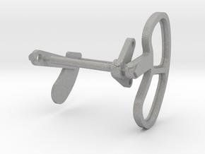 Signal Semaphore Lense Frame & Blinker 1:19 scale in Aluminum