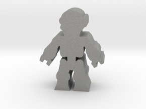 Game Piece, Killer Robot, standing in Gray Professional Plastic