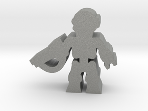 Game Piece, Killer Robot, standing, rifle in Gray Professional Plastic