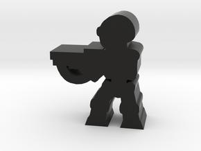 Game Piece, Killer Robot, aim, rifle in Black Natural Versatile Plastic