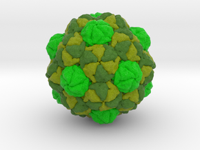 Myxococcus xanthus Encapsulin Protein in Natural Full Color Sandstone