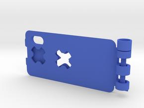 SPC BED iX v1 in Blue Processed Versatile Plastic