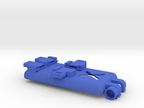 SPC Cover iX v3 in Blue Processed Versatile Plastic