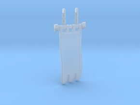 Knight Banner 2.3 in Smoothest Fine Detail Plastic