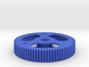 Aerodynic Drive Gear  Dual - 2X-3X in Blue Processed Versatile Plastic