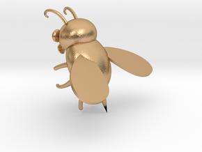 bee in Natural Bronze: Extra Small