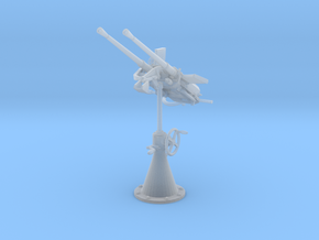 1/35 DKM 20mm C30 Double Flak Elevated v2 in Smooth Fine Detail Plastic