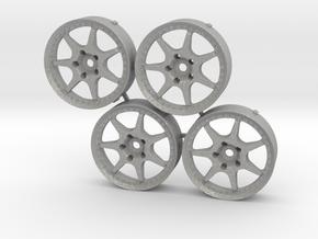 MST Enkei Racing S Changeable inserts in Aluminum