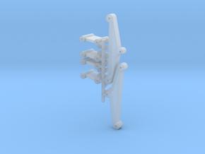 DAF Oplegger TA Type 1 asophanging onderdelen in Smooth Fine Detail Plastic