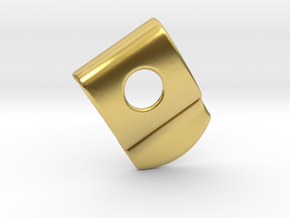 Handle EFF in Polished Brass