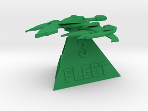 Breen - 3rd fleet in Green Processed Versatile Plastic