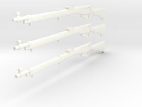 1/12 Lee Enfield Mk1 rifle in White Processed Versatile Plastic