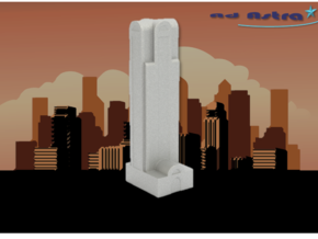 Comerica Bank Tower - Dallas (1:4000) in White Natural Versatile Plastic