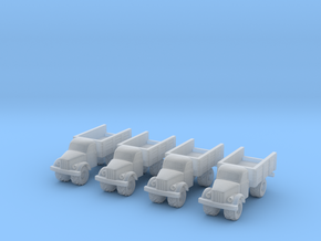 6mm GAZ-63 trucks in Smoothest Fine Detail Plastic